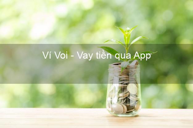 Ví Voi - Vay tiền qua App