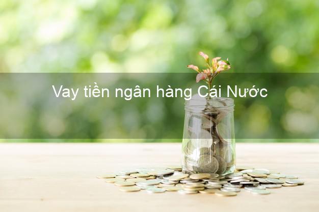 Vay tiền ngân hàng Cái Nước