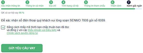 Hướng dẫn vay tiền SenMo dễ nhất